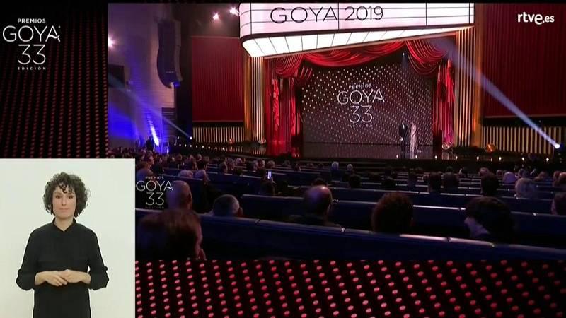 33 Edición Premios Goya en lengua de signos (Parte 2 de 2) - ver ahora