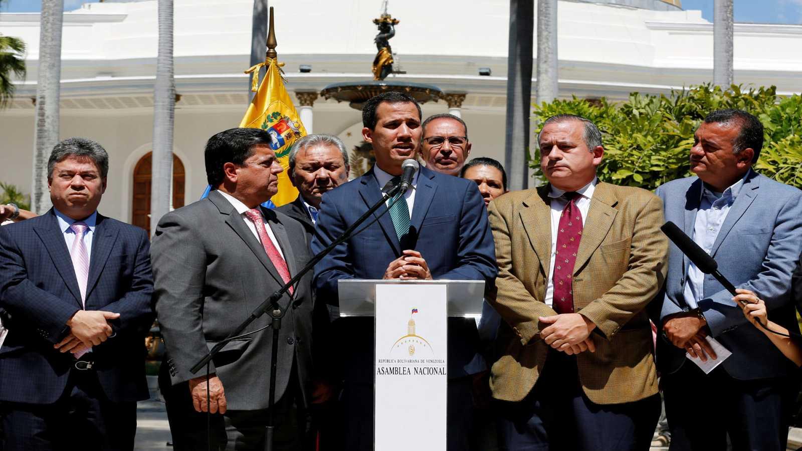 Guaidó agradece el reconocimiento de 19 países de la Unión Europea