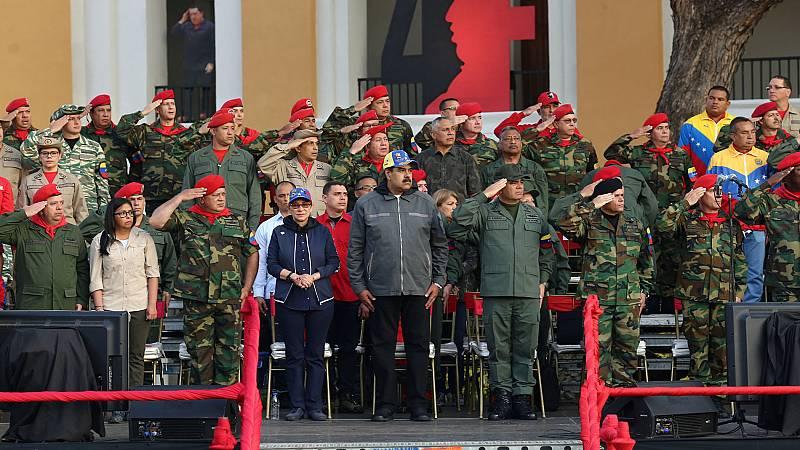"""Maduro califica de """"nefasta e histórica"""" la decisión de Pedro Sánchez de reconocer a Guaidó"""