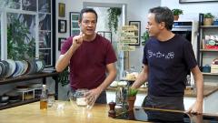 Torres en la cocina - Pizza sobrasada miel y mero con ajo negro