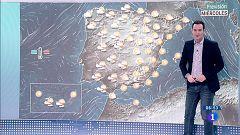 Tiempo estable con cielo despejado salvo algunas lluvias en Galicia al final del día