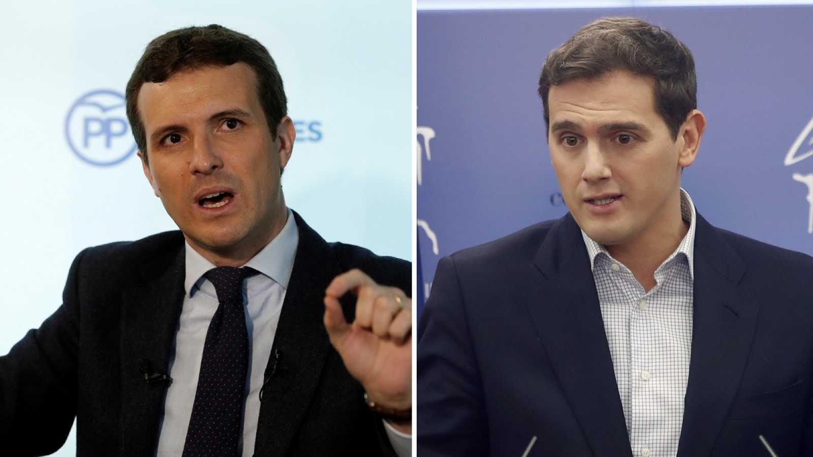 """PP y Ciudadanos convocan manifestaciones para """"frenar"""" a Sánchez en Cataluña"""
