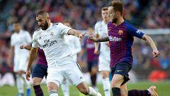 Barça y Madrid afrontan el primer choque por estar en la final de Copa