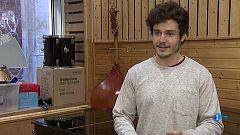 Telediario - La apretada agenda de Miki, el representante de España en Eurovisión 2019