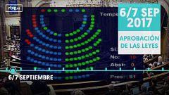 De la ley del referéndum al juicio en el Supremo, la cronología del procés