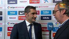 """Valverde: """"Hemos tenido problemas en la salida de juego"""""""