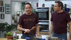 Torres en la cocina - Alubias con mejillones y lenguado con mejillones
