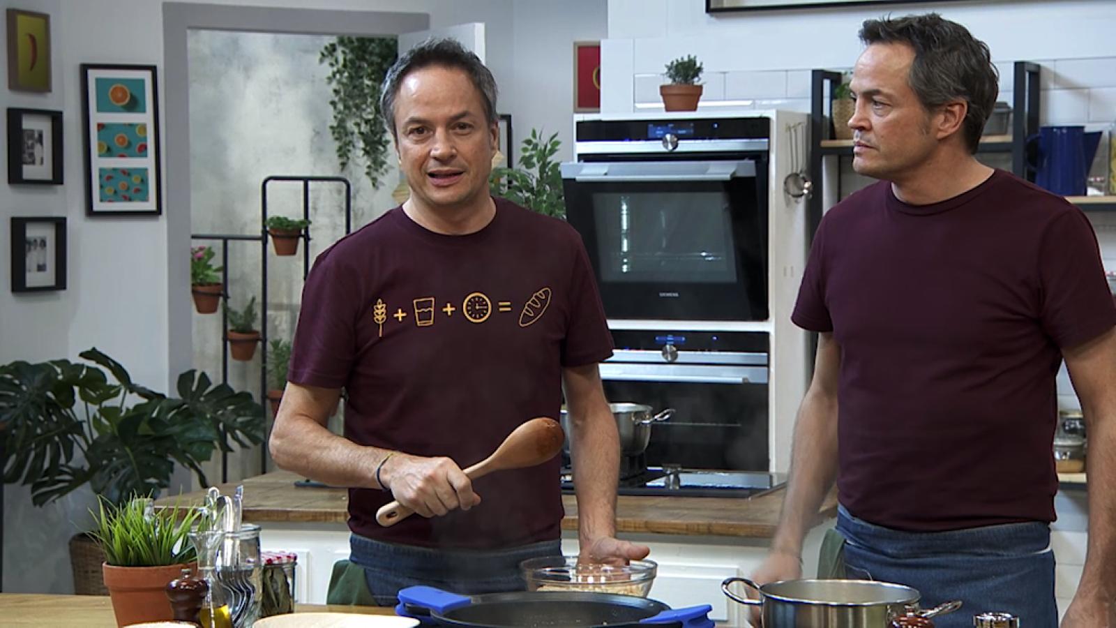Torres en la cocina - Alubias con mejillones y lenguado con mejillones - ver ahora