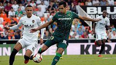 Betis y Valencia se miden en la segunda semifinal de Copa