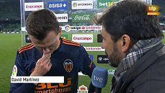 """Cheryshev: """"En dos despistes a balón parado nos han hecho dos goles"""""""