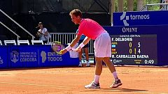 Tenis - ATP 250 Torneo Córdoba: F. Delbonis - R. Carballes