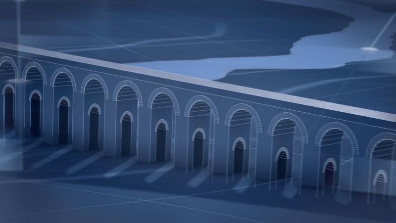 Ingeniería Romana - ¿Para qué servían las arquerías del valle de Bonan en Lyon?