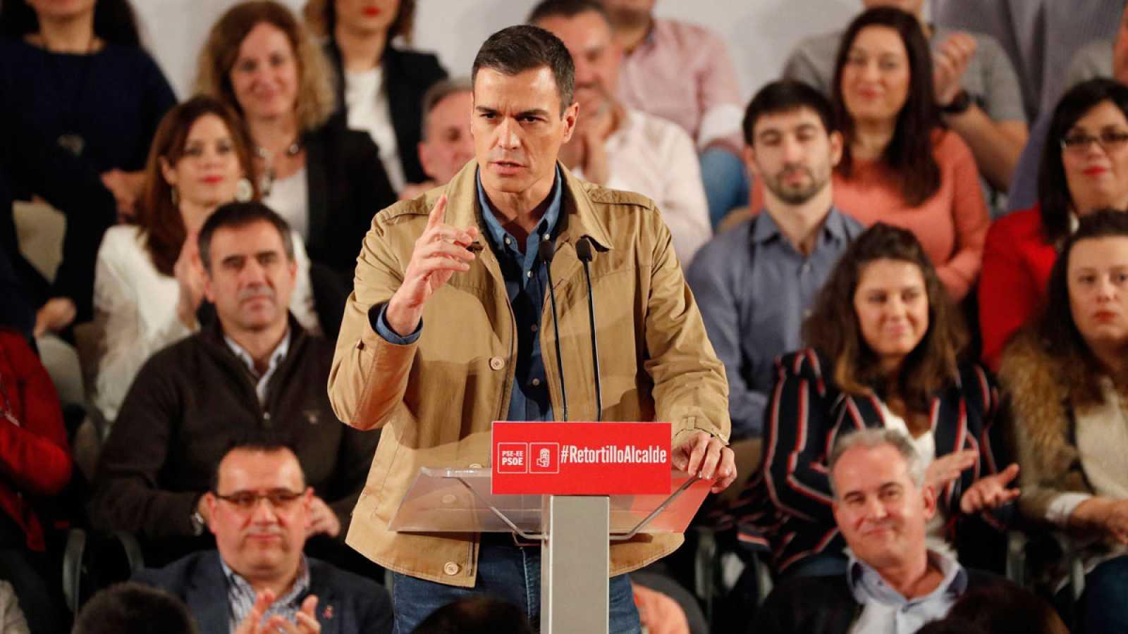 Pedro Sánchez insiste en que nunca negociará el derecho de autodeterminación - ver ahora