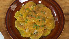 Torres en la cocina - Naranjas con aceite, azúcar y canela