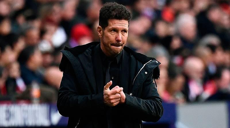 """El entrenador del Atlético de Madrid, Diego Pablo Simeone, aseguró que su equipo no perdió el derbi madrileño (1-3) por el VAR sino porque su rival """"fue mejor y tuvo más contundencia"""", además de lamentar esta segunda derrota seguida que les obliga a"""
