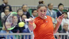 Tenis - Copa Federación 1ª Ronda: Japón - España (3º partido individual)