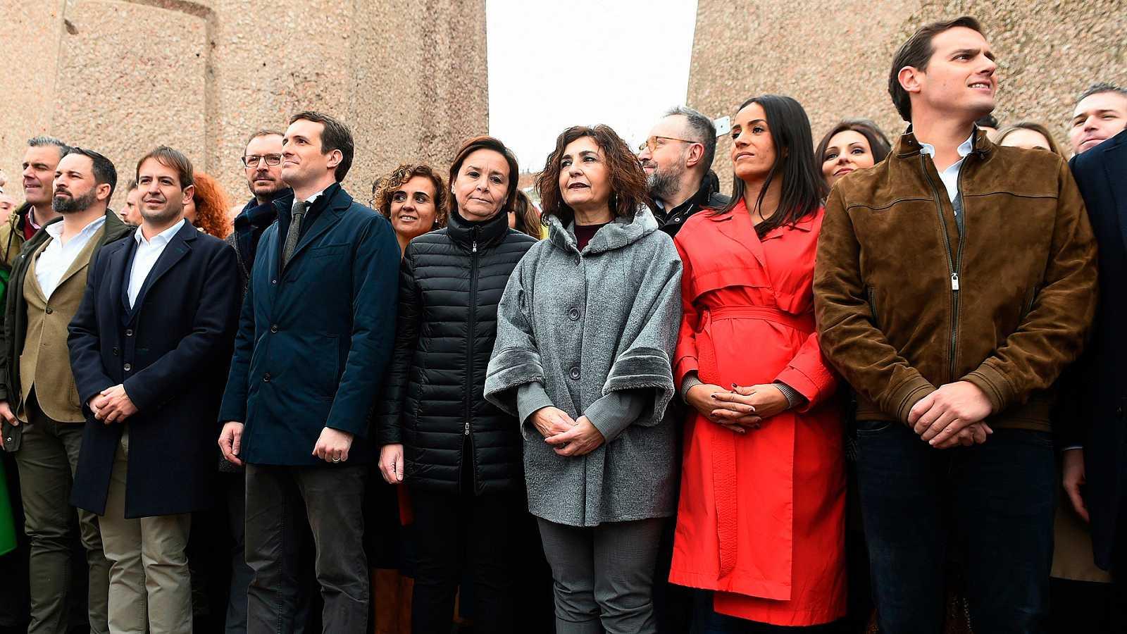 PP, Ciudadanos y Vox exigen a Sánchez elecciones inmediatas - Ver ahora