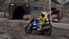 Diario de un nómada. Carreteras extremas: El túnel más peligroso del mundo