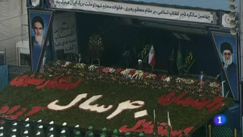 Irán muestra su fuerza en el 40º aniversario de la Revolución Islámica