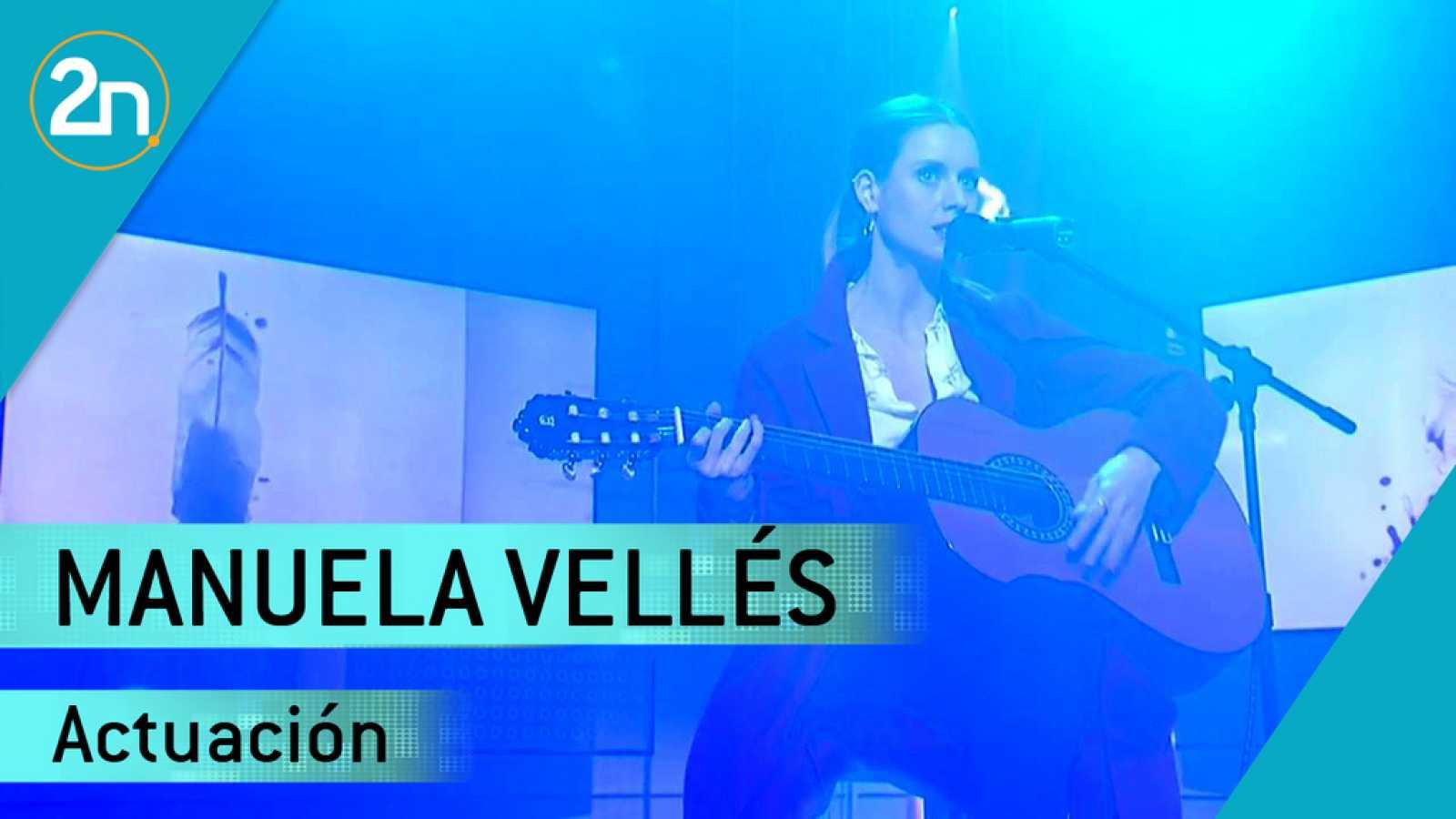 Manuela Valles canta 'Amanezco cantando'