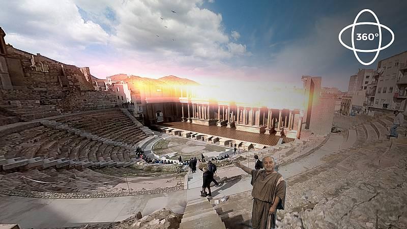 Ingeniería romana 360º: Teatro Romano de Cartagena