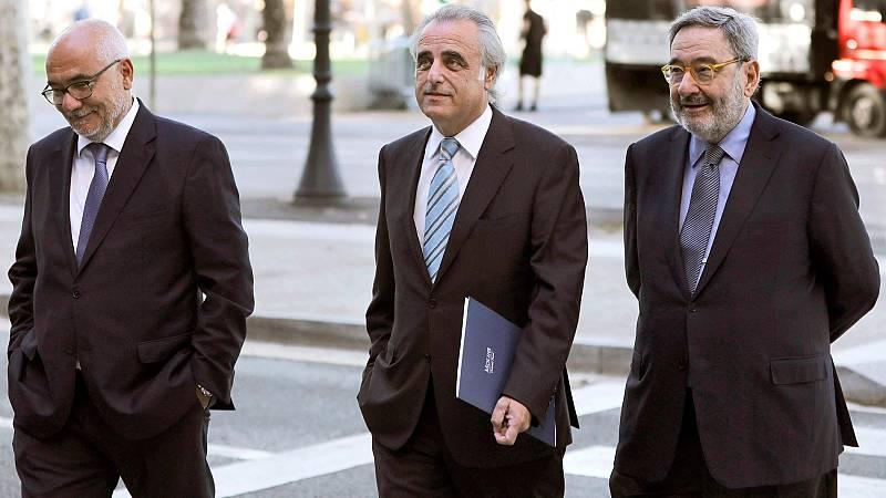 La Audiencia de Barcelona absuelve a Todó y Serra por los sobresueldos en CatalunyaCaixa