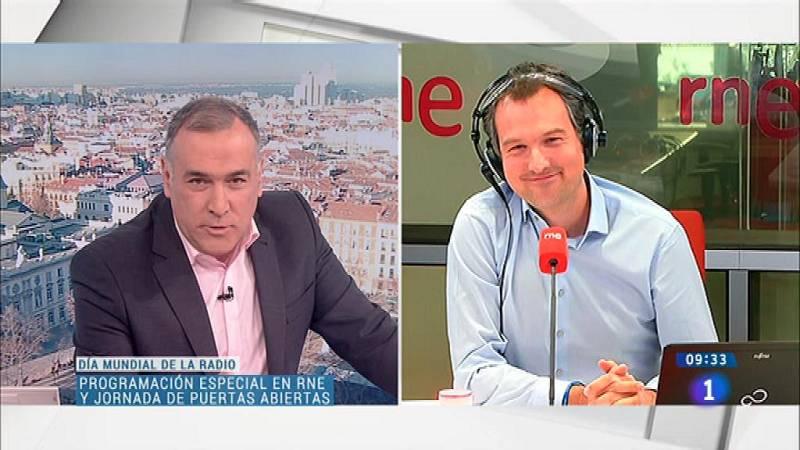 Conexión 'Los Desayunos' con Iñigo Alfonso (RNE)