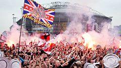 Cuatro seguidores del Ajax detenidos por explotar fuegos artificiales cerca del hotel del Madrid