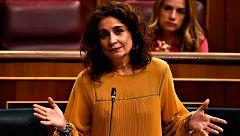 Montero culpa a la derecha de tumbar los Presupuestos y admite que la legislatura se acorta
