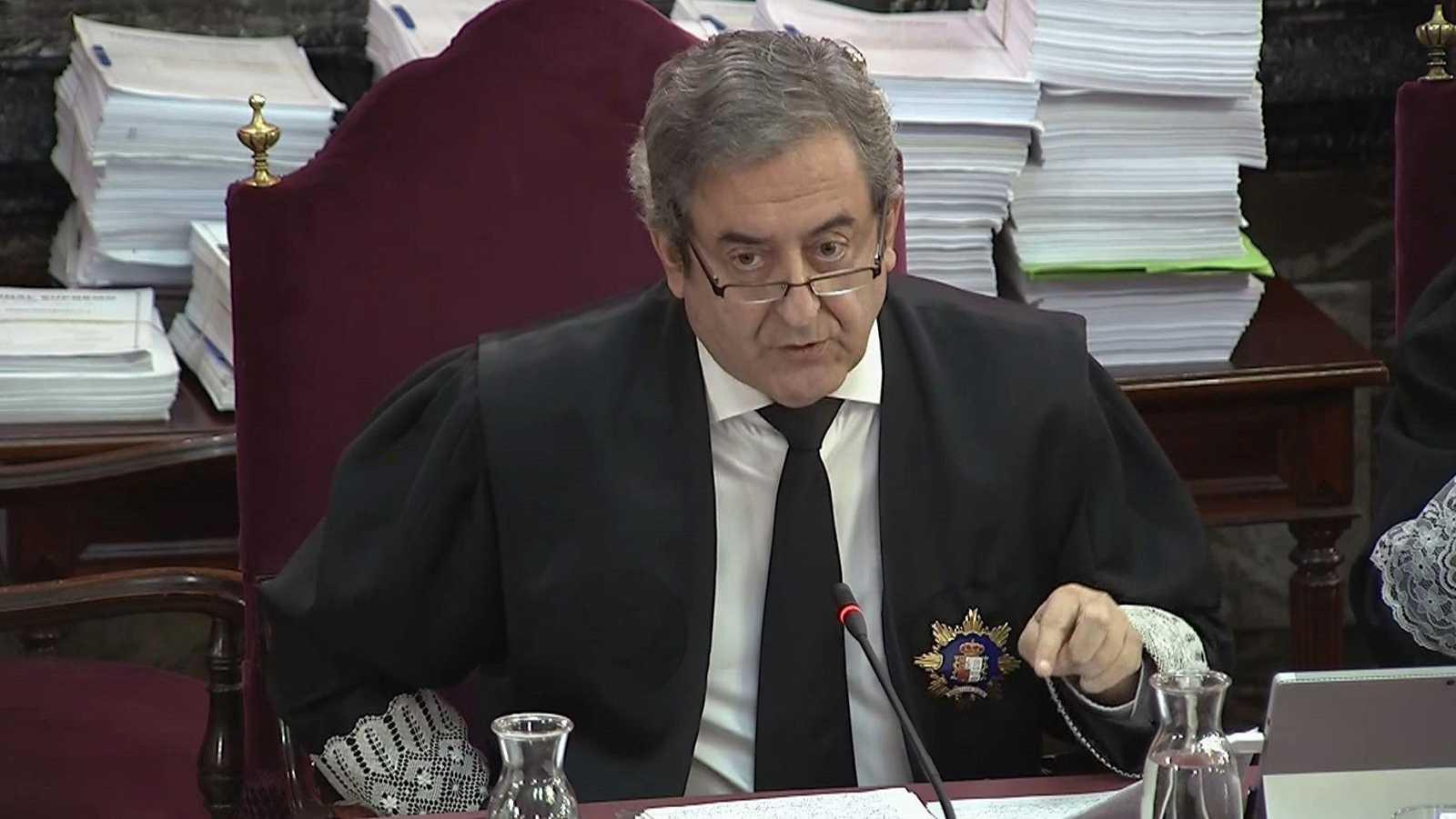 """La Fiscalía niega que sea un juicio político y ve rebelión porque se contempló desde el principio la """"violencia"""""""