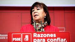 """Cristina Narbona afirma que """"si fuesen verdad"""" las """"muchas mentiras"""" de PP y Cs el Presupuesto se hubiera aprobado"""