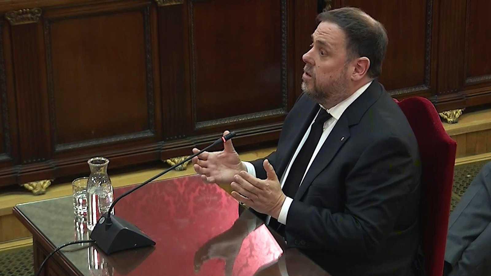 Juicio 'procés': Qué ha pasado en la declaración de Junqueras