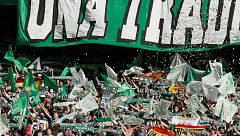 Pelea entre radicales del Betis en Rennes