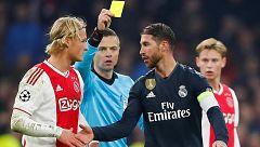 La UEFA abre una investigación a Sergio Ramos por su amarilla