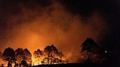 Estabilizado un incendio declarado en La Palma tras la aparición de la lluvia