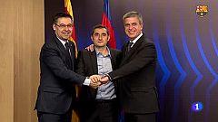 Valverde renueva con el Barça por una temporada más otra opcional