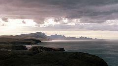 Viento fuerte en el Estrecho y en las Canarias orientales