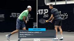 Tenis - ATP 250 Torneo Long Island (EEUU), 1/4 final: G. García-López - R. Opelka