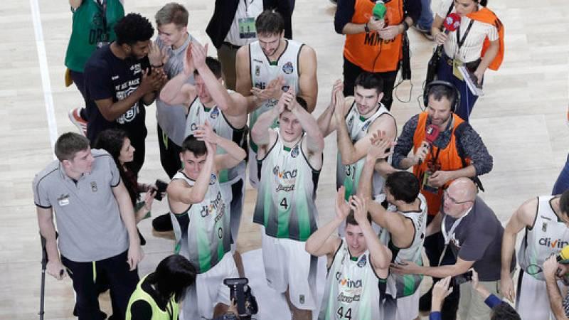 El Joventut celebra el pase a semifinales de Copa cuatro años después