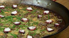 Torres en la cocina - Paella de pulpo y butifarra