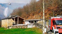 Alerta en Cantabria por 45 incendios activos, casi todos han sido intencionados