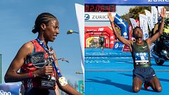 Tsedat e Imana encabezan la demostración etíope en la maratón de Sevilla