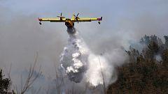 Las llamas devoran Cantabria con hasta 50 incendios activos, ya hay 2 detenidos