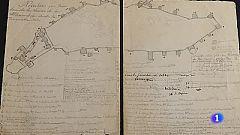 Un coleccionista ha encontrado en un mercadillo unos planos de la Alhambra del S.XIX