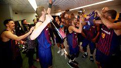 Así celebró el Barça su Copa del Rey de baloncesto
