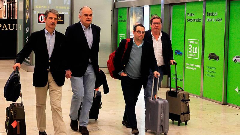 """González Pons: """"No se nos dio ningún documento sobre por qué se nos expulsaba"""""""