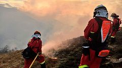 El Gobierno de Cantabria cree que los incendios son intencionados y busca a los culpables