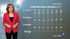 El tiempo en Andalucía - 18/02/2019
