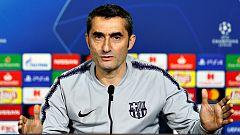 El Barça entrena en Lyon en la víspera de su duelo de Champions