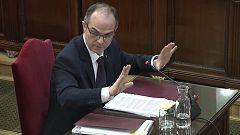 """Turull, al fiscal: """"La DUI fue una expresión de voluntad política"""""""